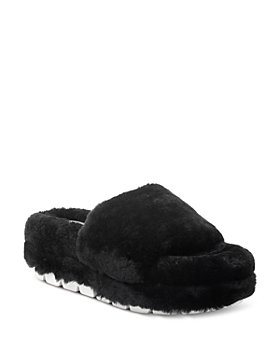 J/Slides - Women's Bryce Shearling Sandals
