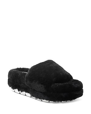 J/Slides Women's Bryce Shearling Sandals