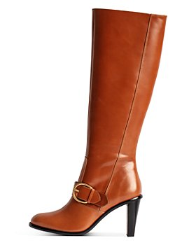 Zadig & Voltaire - Women's Preiser Vintage Style Stacked Heel Tall Boots