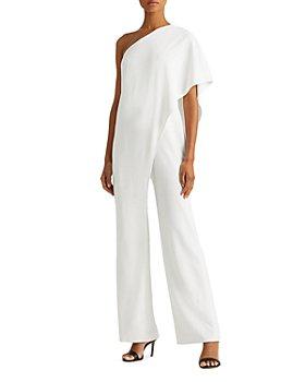 Ralph Lauren - Tiered One-Shoulder Jumpsuit - 100% Exclusive