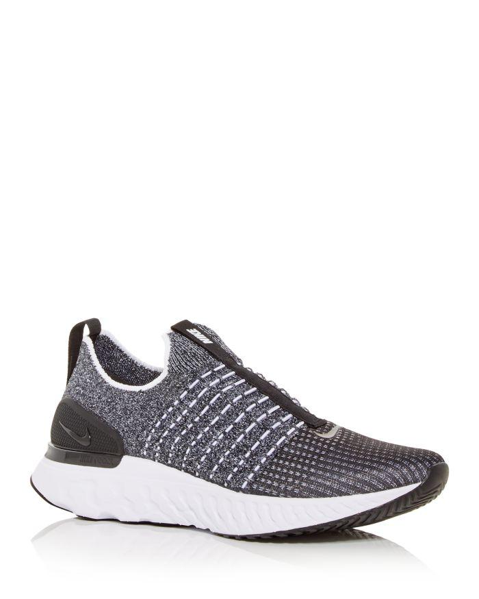 Nike Men's React Phantom Run FK 2 Slip Knit On Sneakers  | Bloomingdale's