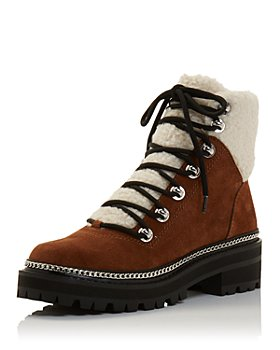 AQUA - Women's Frost Lace Up Booties