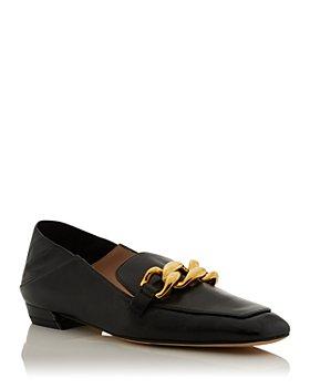 Stuart Weitzman - Women's Mickee Apron Toe Loafers