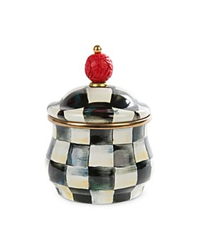 Mackenzie-Childs - Courtly Check Sugar Bowl with Lid