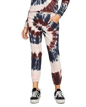 CHASER - Tie Dyed French Terry Jogger Pants