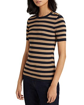 Ralph Lauren - Metallic Striped Sweater