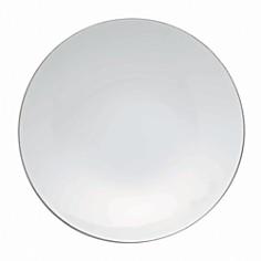 "Rosenthal - ""Tac 02 Platinum"" Rim Soup Plate"