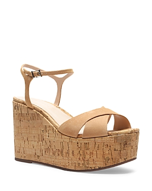 Schutz WOMEN'S BELLINA WEDGE PLATFORM SANDALS