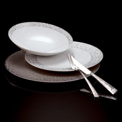 Rosenthal  Tac 02 Skin Platinum  Salad Plate & Rosenthal