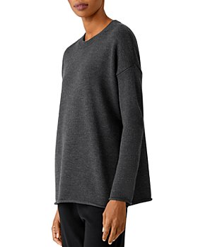 Eileen Fisher - Boxy Merino Wool Sweater