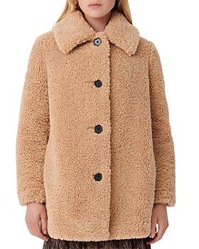 Maje - Gatino Faux Fur Coat