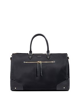 Hook and Albert - Women's Leather Trimmed Garment Weekender Bag