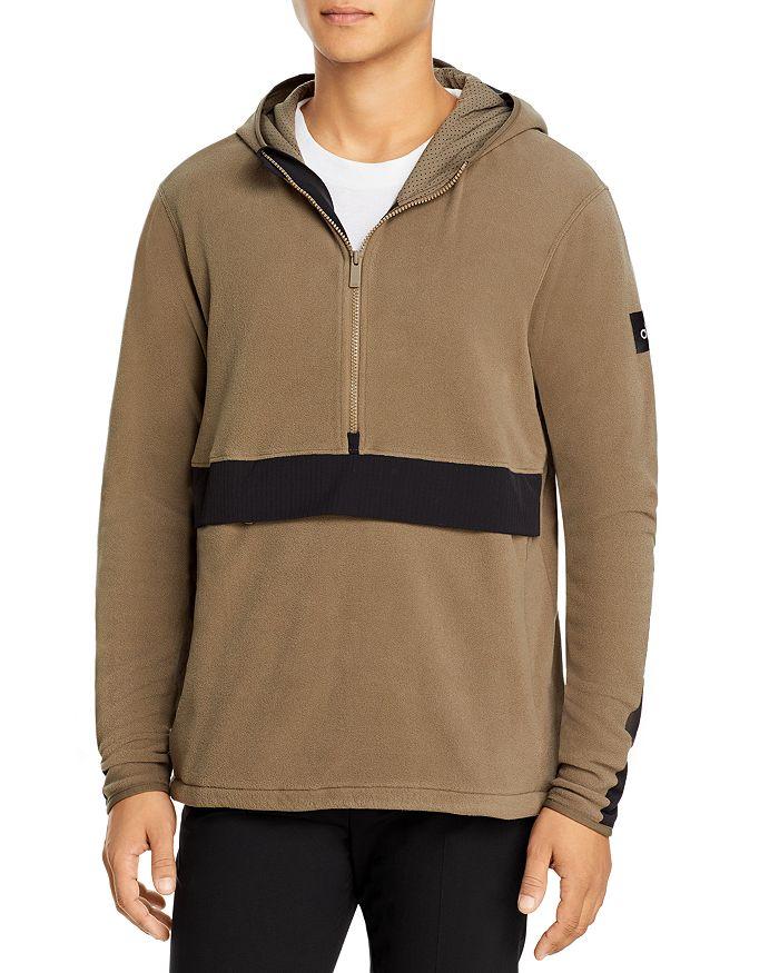 Alo Yoga - Polar Fleece Half-Zip Hooded Pullover