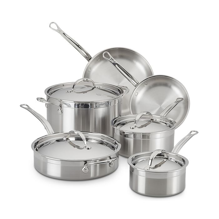 Hestan - ProBond™ Forged Stainless Steel 10-Piece Cookware Set