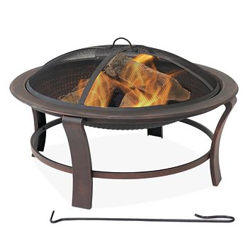 Sunnydaze Decor - Steel Elevated Fire Pit Bowl