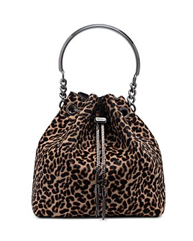 Jimmy Choo - Bon Bon Medium Calf Hair Bucket Bag
