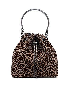 Jimmy Choo - Bon Bon Medium Calf Hair Bucket Bag