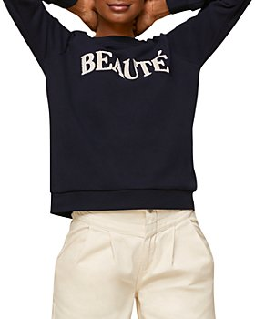 Whistles - Beaute Logo Sweatshirt