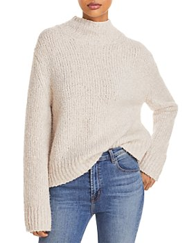 Vince - Textured Funnel Neck Sweater