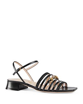 Gucci - Women's Ketty Leather Horsebit Sandals