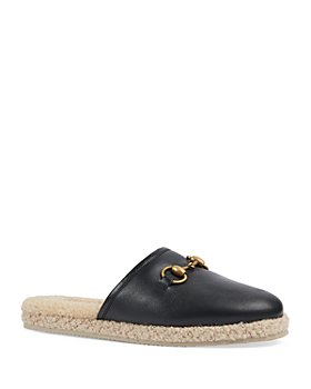 Gucci - Women's Fria Horsebit Slippers