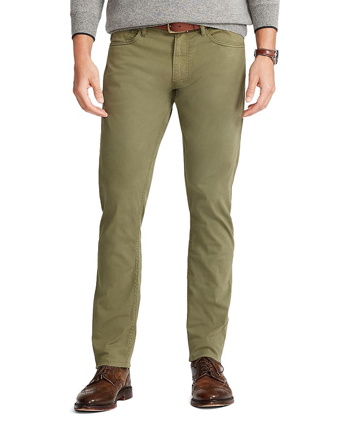 Polo Ralph Lauren - Sullivan Cotton Stretch Slim Fit Pants