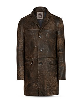 John Varvatos Collection - Regular Fit Sheepskin Coat