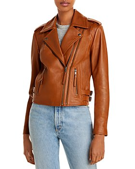 Joie - Leolani Leather Moto Jacket