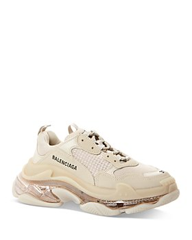 Balenciaga - Women's Triple S Clear Sole Chunky Sneakers