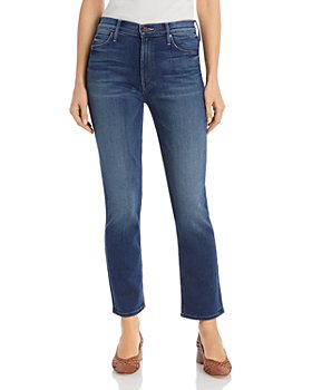 MOTHER - The Dazzler Ankle Straight-Leg Jeans in Sweet and Sassy