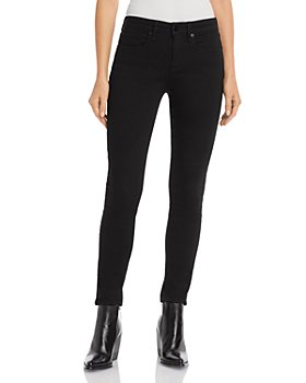 rag & bone - Cate Ankle Skinny Jeans in No Fade Black