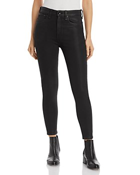 rag & bone - Nina Coated High-Rise Skinny Jeans