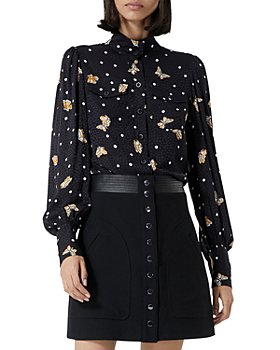 The Kooples - Butterfly Print Blouse