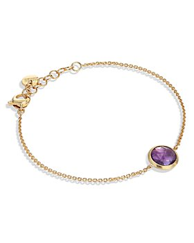Marco Bicego - 18K Yellow Gold Jaipur Color Amethyst Chain Bracelet