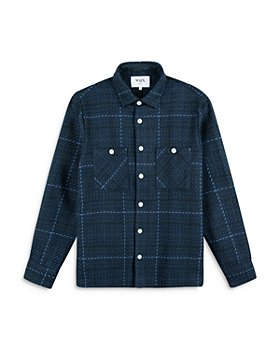 Wax London - Whiting Plaid Regular Fit Button Down Shirt