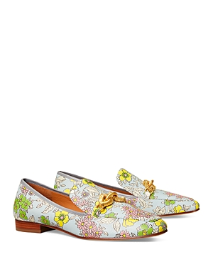 Tory Burch Loafers WOMEN'S JESSA EMBELLISHED LOAFERS