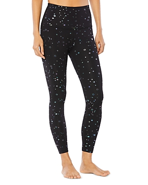 Beyond Yoga TOSSED STAR HIGH WAISTED MIDI LEGGINGS