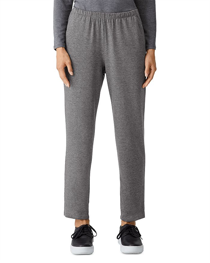 Eileen Fisher - Jersey Tapered Ankle Pants