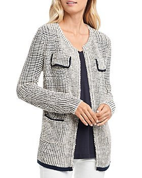 NIC and ZOE - Textured Knit Jacket