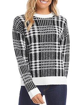 Karen Kane - Plaid Pullover Sweater