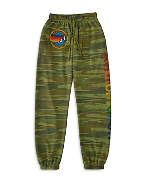 Aviator Nation Camo Jogger Sweatpants