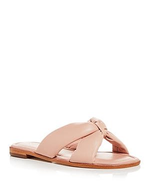 Schutz Leathers WOMEN'S FAIRY SLIDE SANDALS