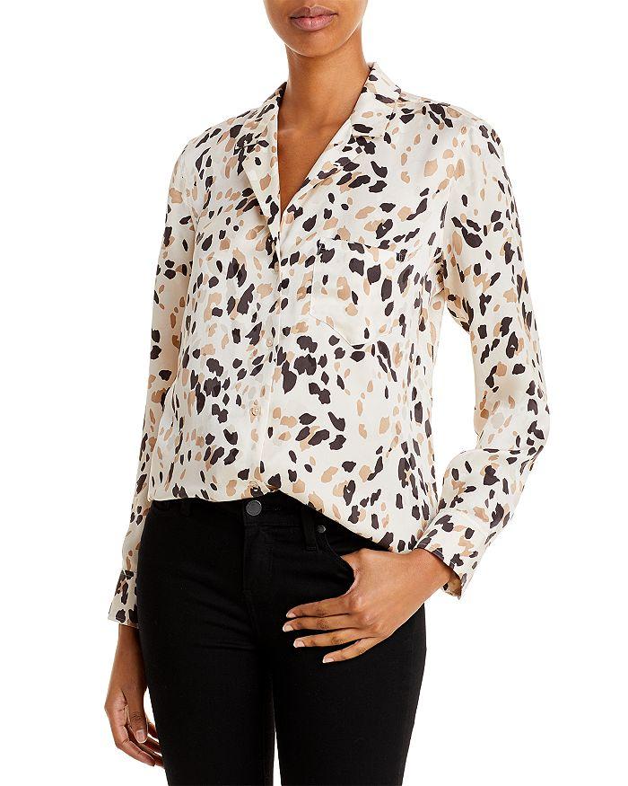 Rails - Rebel Cheetah Print Silk Shirt