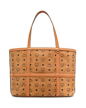 MCM - Delmy Visetos Medium Shopper Tote