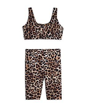 Peixoto - Girls' Olivia Sports Bra & Biker Shorts - Big Kid