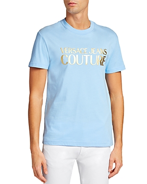 Versace Jeans Couture Institutional Logo Slim Fit Tee-Men
