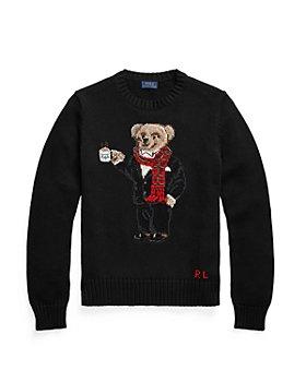 Ralph Lauren - Cocoa Polo Bear Sweater