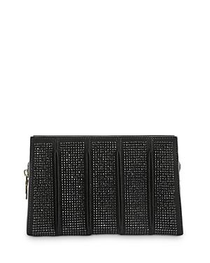 Max Mara Whitney Studded Leather Clutch-Handbags