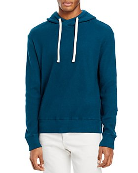 Monrow - Cotton Blend Brushed Thermal Hoodie