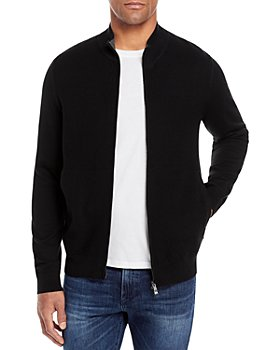 BOSS - Mileo Zip Front Sweater